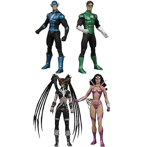 Picture of DC Direct Green Lantern Blackest Night Series 6 Action Figure Set (B003F2VNAQ) (Green Lantern Action Figures)