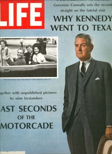 Life Magazine; November 24, 1967 (Kennedy - Connally cover)