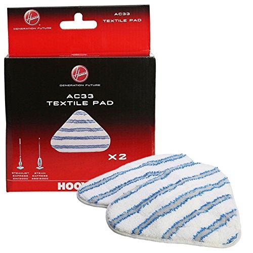 véritable Hoover Nettoyeur Vapeur AC33type de textile en microfibre pour balai à vapeur-35601658