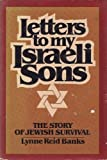 img - for Letters to my Israeli sons: The story of Jewish survival book / textbook / text book