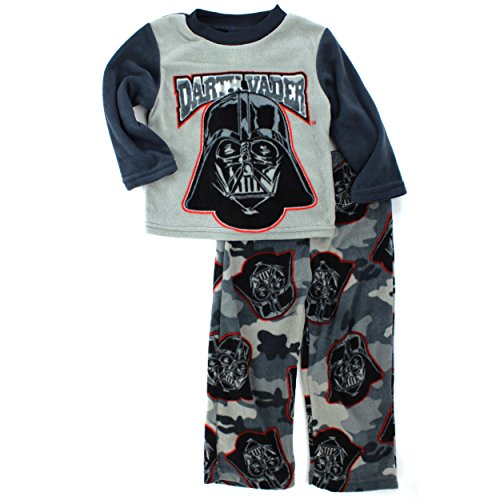 Star Wars Darth Vader Boys Grey Fleece Pajamas