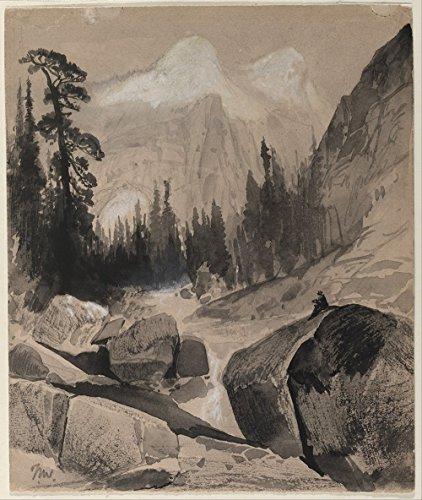 thomas-moran-the-north-dome-yosemite-california-extra-large-matte-print