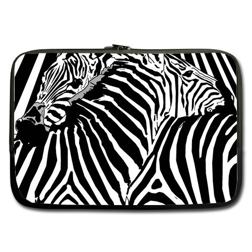 Anhome Print Animals Black And White Zebra Sleeve For Macbook Pro / Sleeve For Laptop / Notebook Computer / Macbook / Macbook Air 17''