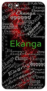 Ekanga (A Bodyguard) Name & Sign Printed All over customize & Personalized!! Protective back cover for your Smart Phone : Moto G-4-Plus