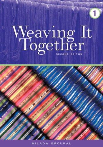 Weaving It Together (Book 1), Broukal, Milada