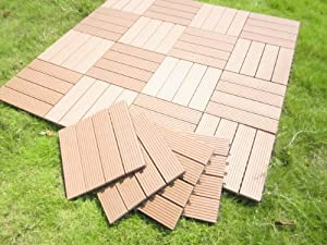 Century Outdoor Living DIY Outdoor Deck Tile Patio Interlocking Tile