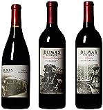 "Dumas Station ""Hell on Wheels"" Cab, Merlot & Syrah II Mixed Wine Pack, 3 x 750 mL"