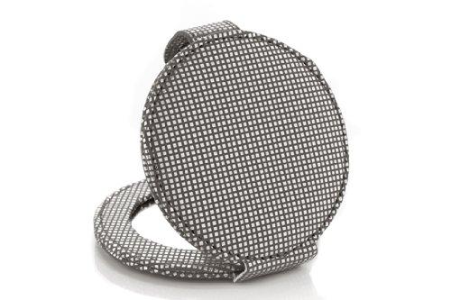 Miroir poche gris for Miroir paillette