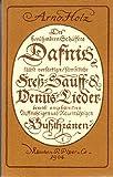 Dafnis. Lyrisches Portrait aus dem 17. Jahrhundert