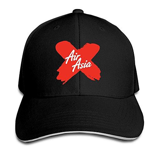 popyol-airasia-x-logo-adjustable-peaked-baseball-caps-hats-for-unisex