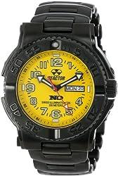 REACTOR Men's 59507 Trident Never Dark Stainless Steel Watch