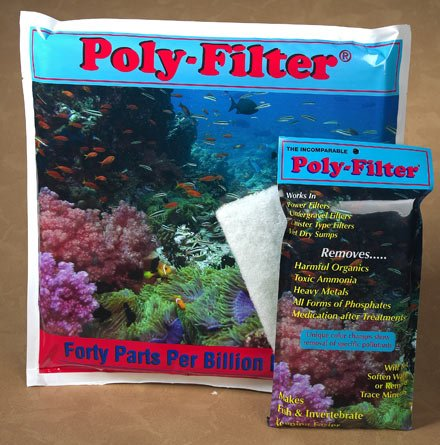 Poly Bio Marine Products Apm1212 Poly-Bio-Marine Poly Sheet Filter Pads For Aquarium, 12 By 12-Inch front-585837