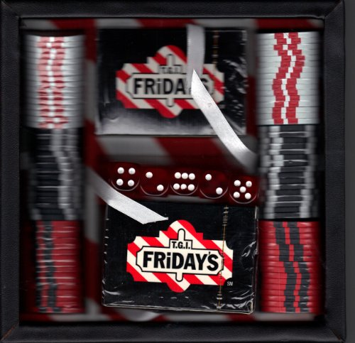 T.G.I. FRIDAY'S 40TH ANNIVERSARY POKER SET