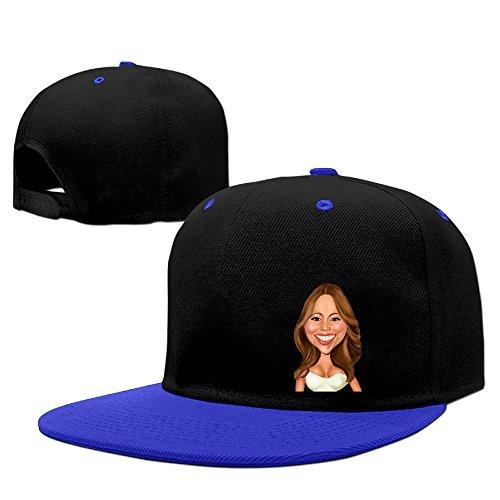 Mariah Carey Caricature Flat Baseball Snapback Hip Hop Cap Men Women RoyalBlue (Rockstar Energy Drink Shorts compare prices)