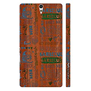Sony Xperia C5 Barbeque Nation designer mobile hard shell case by Enthopia