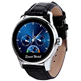 """StarryBay Smart Watch 1.22"""" HD IPS Capacitive Touch Screen Writwatch with Voice Gesture Control for Dual Systems/ Android iPhone"""