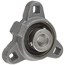 Boston Gear XL31/2 Mounted Bearing, Flange, Light Duty, 3 Bolts, 0.5 Bore
