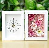 Lulu's(ルルズ) プリザーブドフラワー プルメリア時計 ピンク