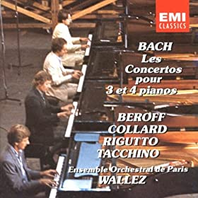 Concerto In D Minor For 3 Keyboards, BWV1063: I. Allegro