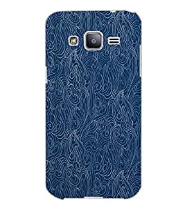 SAMSUNG GALAXY J2 PATTERN Back Cover by PRINTSWAG