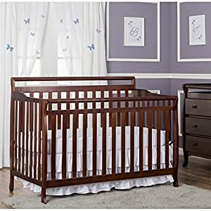 Dream On Me Liberty 5 In 1 Convertible Crib Espresso Convertible Cribs Baby