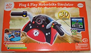 Plug & Play Motorbike Simulator W/30 Plug N Play Games