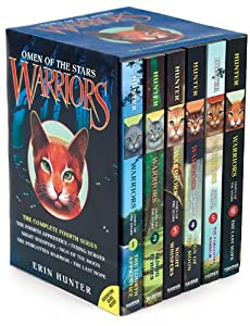 Warriors: Omen of the Stars Box Set: Volumes 1 to 6 from HarperCollins