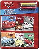 Cars: Mit 6 Ausmalbüchern, 4 Buntstiften und mehr als 50 Stickern