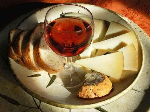 Wine cheese and bread - 18