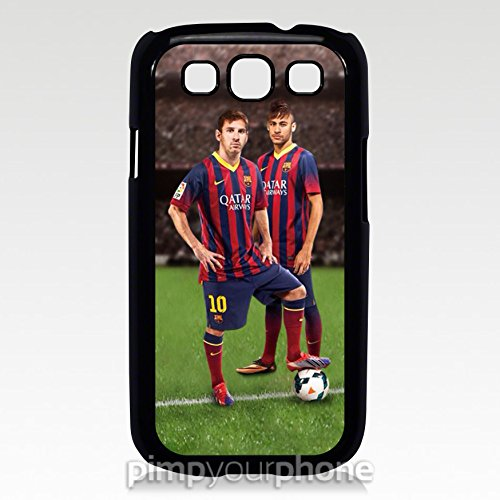 Lionel Messi and Neymar Barcelona Samsung Galaxy S3 Cover Case (Cool Pimp Cup compare prices)