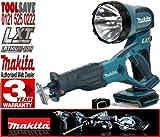 MAKITA BML185 18V Cordless Torch Plus BJR181Z 18V LXT Li-Ion Reciprocating Saw (Bare Unit)