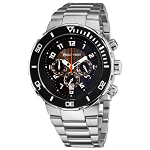 Philip Stein Men's 33-XB-SS Active Stainless Steel Bracelet Watch
