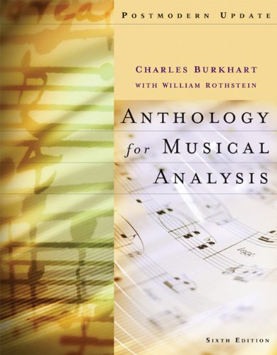 Anthology for Musical Analysis, Postmodern Update