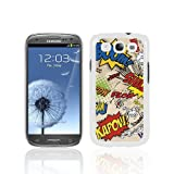 Samsung Galaxy S3 i9300 Comic Capers Image Hard Back Cover / Case / Shell / Shield - Multicolouredby Call Candy