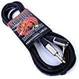 Guitar Lead/Cable:10ft / 3m Electric/Electro-Acoustic/Bass/Instrument + Lifetime Warranty
