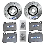 2x Brake Disc + 1x Brake Pad Set VENTED Ø330 MERCEDES BENZ S-CLASS W220 S 320 CDI S 400 CDI S 430 S 500