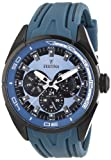Festina Men's Quartz Watch with Blue Dial Analogue Display and Blue Rubber Strap F16610/3