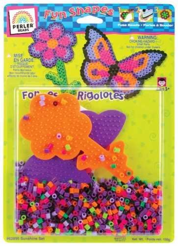 Perler Fun Shapes Fuse Bead Activity Kit - Perler Fun Shapes Fuse Bead Activity Kit