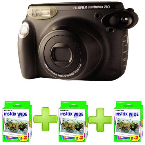 Fuji Instax 210 Camera + 70 Instax Wide Film