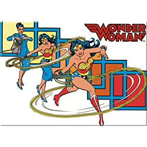 Wonder Woman Pocket Mirror