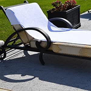 Linum Home Textiles Chaise Lounge Cover Grand Patio Lawn