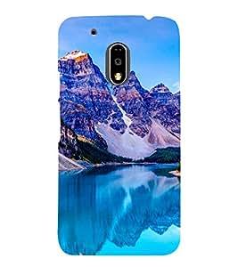 Blue Mountains 3D Hard Polycarbonate Designer Back Case Cover for Motorola Moto G4