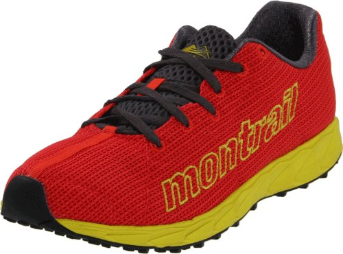 Montrail Women's Rogue Fly Trail Running Shoe,Poppy Red/Moray,5.5 M US