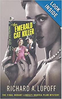 The Emerald Cat Killer, author Richard A. Lupoff, detective stories, best sellers
