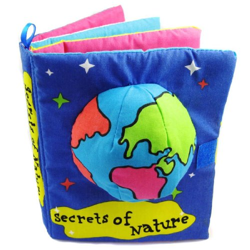 Baby Toys Doll Early Development Books Secrets Of Nature Cloth Book Cloth Book front-526769