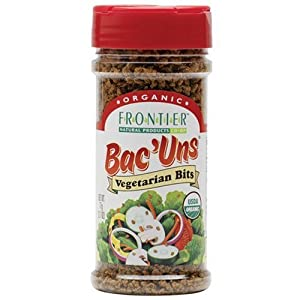 Frontier Vegetarian Bits Bac'uns Certified Organic, 2.47-Ounce Bottles (Pack of 3)