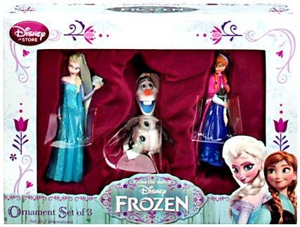 Disney Frozen Exclusive Sketchbook Ornament Set
