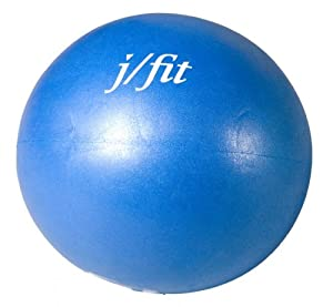 J Fit 7-Inch Therapy Ball, Blue