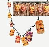 Tiki Head Light String Set - Luau Party Patio Lights