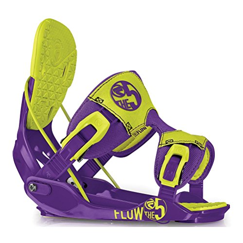 Flow The Five Snowboard Bindings Large Toxic